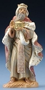 Fontanini King Melchior * Nativity Village Collectible - King Figurine Melchior