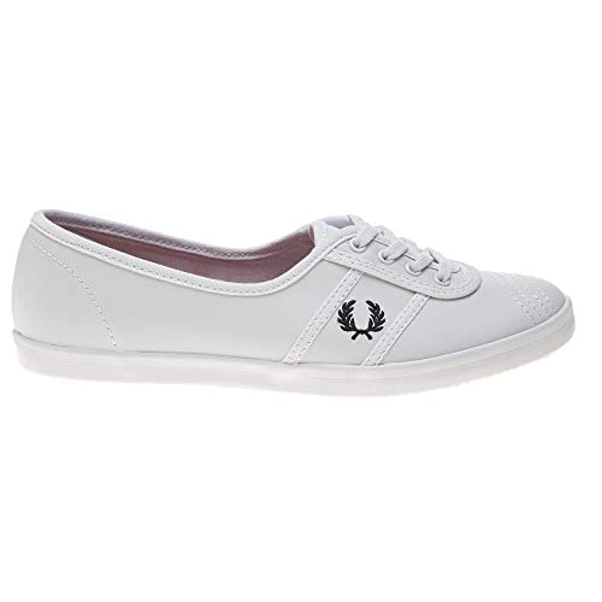 Fred Perry Aubrey Leather Donna Sneaker Bianco