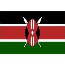 Kenya 3ft x 5ft Printed Polyester Flag (Polyester Flag Printed)