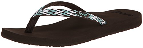 femme Multicolore Aqua White Tongs Baw Brown Reef Ginger 7qvxUT7F