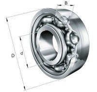 FAG 6200-C Super Pop Deep Groove Ball Bearing Schaeffler Group Industrial