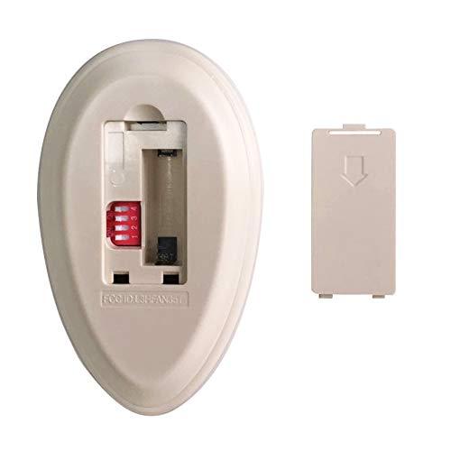 Ceiling Fan Remote Control Replace for Original FAN35T Harbor Breeze KUJCE9603, FCC ID: L3HFAN35T1 by Ecoobay (Image #1)