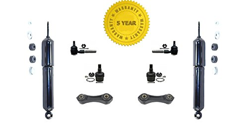 Mac Auto Parts 143823 Ranger 2 Wheel Drive Shocks Ball Joints Tie Rods Sway Links 8Pc Kit ()