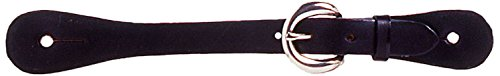 Jingle Spurs Bob - Tough 1 Economy Spur Straps, Black
