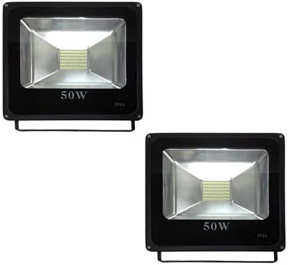 Pack 2 x Foco Led Slim de 50W - Luz Fría 6000/6500k - 4500 Lm ...