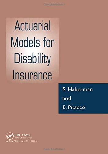 Actuarial Models for Disability Insurance