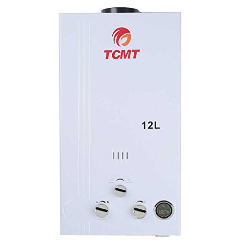 TC-Home 12L LPG Propane Gas Instant Tankless 3.2 GPM Hot Water Heater Boiler House Bath - Propane Heater Water
