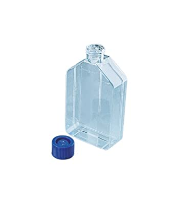 Nunc Polystyrene Flasks with Filter Cap, Sterile, Straight Neck, Nunclon Surface, 80cm2 Culture Area, 30ml Working Volume (Case of 50)