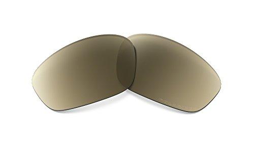 Oakley Straight Jacket 16-561 Polarized Rimless Sunglasses,Multi Frame/Gold Iridium Polarized Lens,one - Oakley Straight Sunglasses
