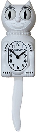 - Kit-Cat Klock Limited Edition Lady (White)