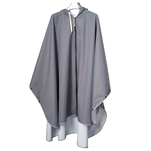 Poncho Aire Gray Libre Al Impermeable Adulto Senderismo Largo Excursión Gongyu De Coche Eléctrico Impermeable Chaqueta gpnTtf