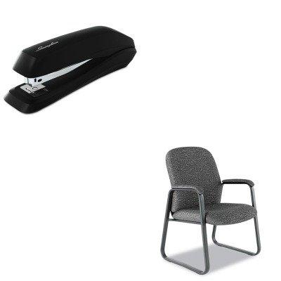 KITALEGE43FC40BSWI54501 - Value Kit - Best Genaro Guest Chair (ALEGE43FC40B) and Swingline Standard Strip Desk Stapler (SWI54501) by Best