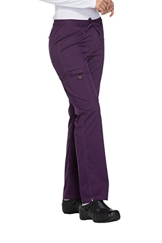 - Women's Essence Mid Rise Straight Leg Drawstring Scrub Pants