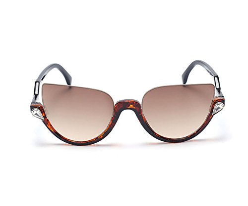 Heartisan Personality Cat Eye Color Filter Plastic Frames UV400 Protection - Sunglasses Tagheuer