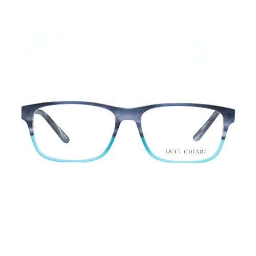 ... OCCI CHIARI - Monture de lunettes - Femme Taille unique bleu  marine vert ... 5f00766b8723