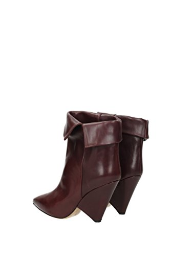 Isabel Marant Ankle Boots Women - Leather (BO013617H002S) UK Violet vSU12e1z