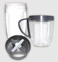 Amazon.com: Nutribullet Cup & Blade Replacement Pack - 4pc ...
