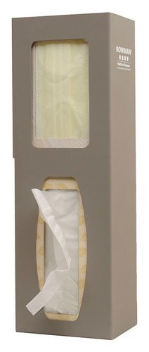 BOWMAN KS123-0529 Infection Prevention Station Accessory, Hand Sanitizer Floor Stand, 15.11'' Height, 7.21'' Width, 4.29'' Length by BOWMAN