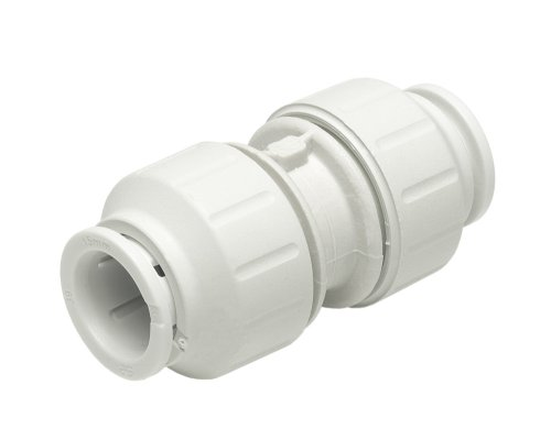 White Pack of 10 John Guest Speedfit PEM0315W 15mm Equal Elbow