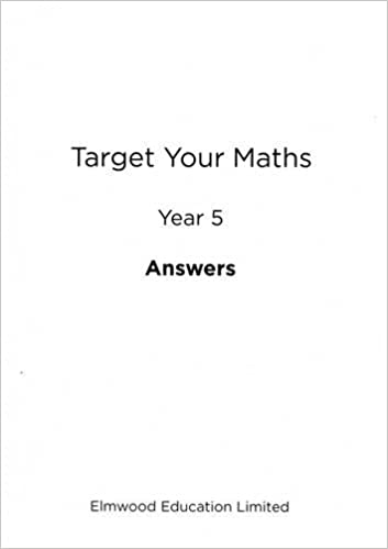 Target Your Maths Year 5 Answer Book Year 5 Amazoncouk