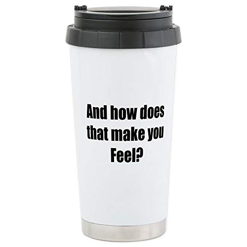 CafePress In Treatment Stainless Steel Travel Mug, Insulated 16 oz. Coffee Tumbler