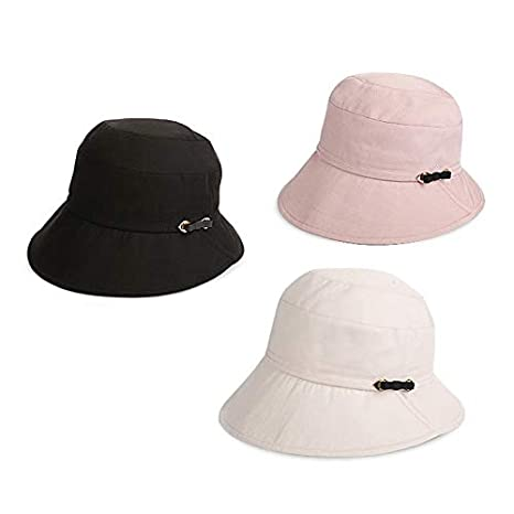 color : Pink Sun Protection Cap Female Sun Protection Sun Hat Comfortable Breathable Fashion Bow Decoration Cap Circumference 55-57cm