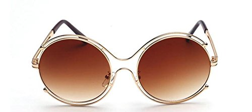 style soleil du lunettes cercle de retro Lennon Thé de métallique rond Tranche polarisées inspirées en vintage 5XqXrRwT1