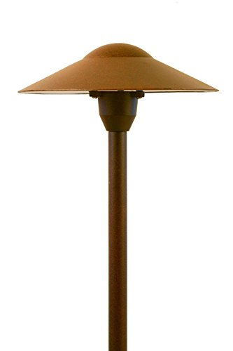 Mushroom Path Light In Rust Finish in US - 2
