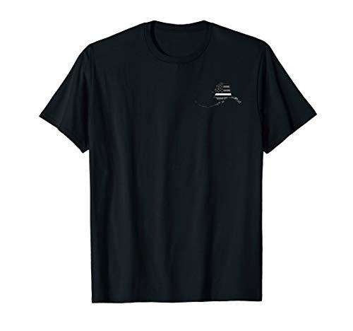 Alaska EMS Thin White Line Paramedic EMT T-Shirt