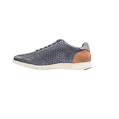 Herren Schuhe Dunkelblau Schuhe Schnürer Schnürhalbschuhe MUSTANG SHOES Sneaker 5qxO0w57E