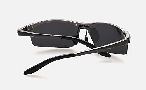 retro Cadre soleil rond de polarisées inspirées métallique Pistolet cercle du Lennon lunettes style vintage en de qOYUWwx