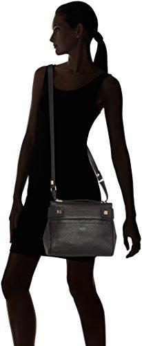 Piquadro , Sac bandoulière pour femme noir noir 26 cm
