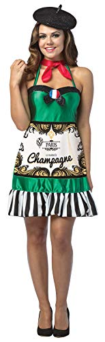 Rasta Imposta Women's Sexy Champagne Dress Funny Theme Party Halloween Fancy Costume, OS (Up to 12) ()