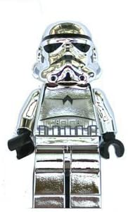 Lego Stormtrooper Chrome Silver Star Wars 2 Inch Minifigure