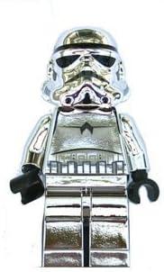 Lego Stormtrooper Chrome Silver Star Wars 2 Inch Minifigure