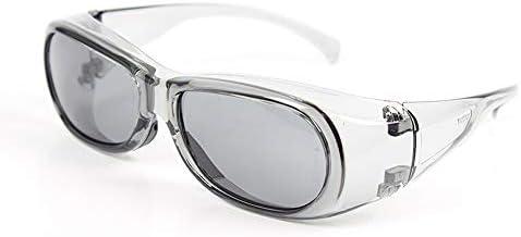 保護メガネ - スプラッシュゴーグル防塵防風メガネサングラス (Color : Silver)