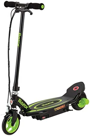 Razor Power Core E90 Electric Scooter - Hub Motor, Up to ten mph and 80 min Ride Time, for Kids 8 and Up