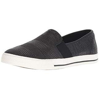 Lauren Ralph Lauren Women's Jinny Sneaker, Black, 7.5 B US