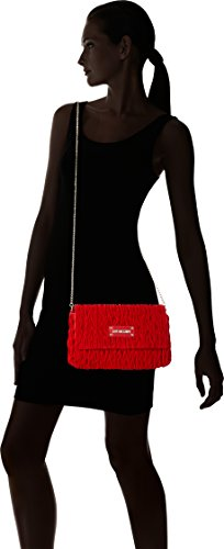 tracolla cm Moschino Rot x Rosso Borse T a Donna Love Borsa H 17x28x5 Red B Fabric AYxdnTwqP