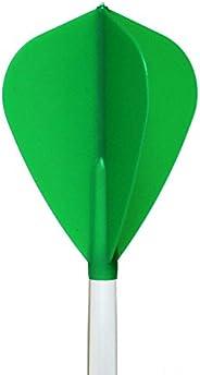 1 SET COSMO FIT FLIGHT KITE GREEN DART FLIGHTS