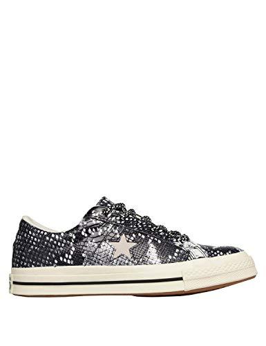 egret Star Basses Multicolore One egret Converse black 001 Sneakers Lifestyle Ox Enfant Mixte UEXavq