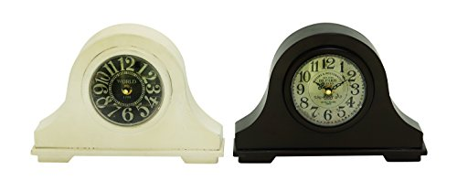 - Deco 79 92256 Metal Table Clock, 10