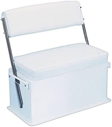 Center Console Swingback Boat Seat with Cooler/Backrest/Storage zone [Todd] Picture