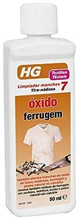 HG Limpiador Manchas Oxido - 50 ml
