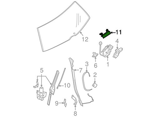 Genuine Nissan 90606-5Z005 Handle Assembly