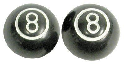 8 Ball Valve Caps (Trik Topz 8-Ball Valve Caps Pr Black)