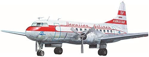 ローデン 1/144 ハワイアン航空 コンベアCV340 双発中型旅客機 1956年 プラモデル 014T334