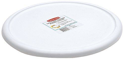 Rubbermaid Home 2303-RD-WHT Lazy Susan Turntable 2303-RD WHT