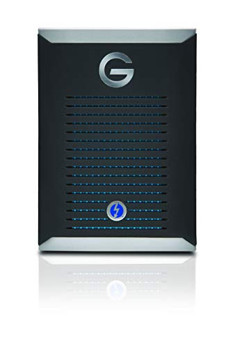 G-Technology 2TB G-DRIVE Mobile Pro SSD Portable Professional Grade External Storage - Thunderbolt 3 - 0G10312-1