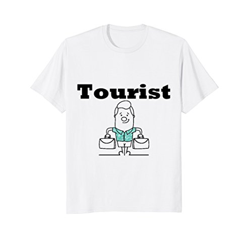 Price comparison product image Official Tourist T-Shirt For Men, Women, Kids. Gift Tee